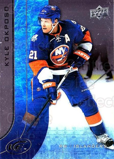 2015-16 UD Ice #17 Kyle Okposo<br/>6 In Stock - $2.00 each - <a href=https://centericecollectibles.foxycart.com/cart?name=2015-16%20UD%20Ice%20%2317%20Kyle%20Okposo...&quantity_max=6&price=$2.00&code=687935 class=foxycart> Buy it now! </a>