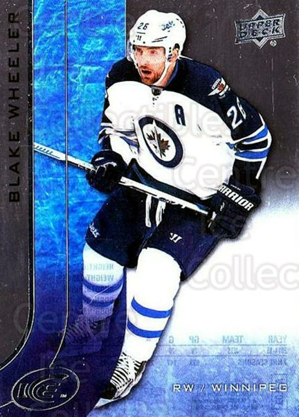 2015-16 UD Ice #20 Blake Wheeler<br/>6 In Stock - $2.00 each - <a href=https://centericecollectibles.foxycart.com/cart?name=2015-16%20UD%20Ice%20%2320%20Blake%20Wheeler...&quantity_max=6&price=$2.00&code=687938 class=foxycart> Buy it now! </a>