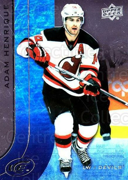 2015-16 UD Ice #21 Adam Henrique<br/>6 In Stock - $2.00 each - <a href=https://centericecollectibles.foxycart.com/cart?name=2015-16%20UD%20Ice%20%2321%20Adam%20Henrique...&quantity_max=6&price=$2.00&code=687939 class=foxycart> Buy it now! </a>