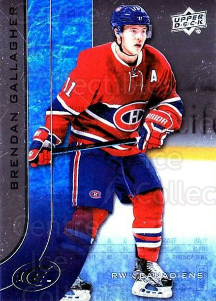 2015-16 UD Ice #33 Brendan Gallagher<br/>6 In Stock - $2.00 each - <a href=https://centericecollectibles.foxycart.com/cart?name=2015-16%20UD%20Ice%20%2333%20Brendan%20Gallagh...&quantity_max=6&price=$2.00&code=687951 class=foxycart> Buy it now! </a>