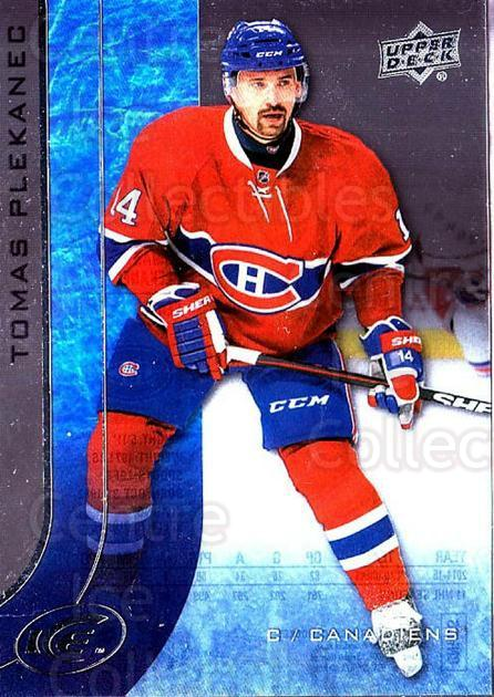 2015-16 UD Ice #35 Tomas Plekanec<br/>3 In Stock - $2.00 each - <a href=https://centericecollectibles.foxycart.com/cart?name=2015-16%20UD%20Ice%20%2335%20Tomas%20Plekanec...&quantity_max=3&price=$2.00&code=687953 class=foxycart> Buy it now! </a>
