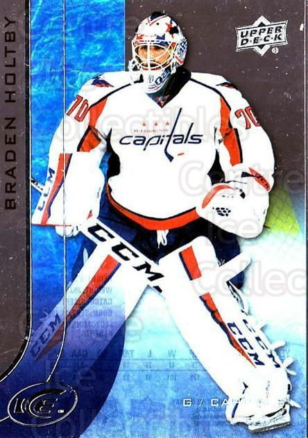 2015-16 UD Ice #36 Braden Holtby<br/>4 In Stock - $2.00 each - <a href=https://centericecollectibles.foxycart.com/cart?name=2015-16%20UD%20Ice%20%2336%20Braden%20Holtby...&quantity_max=4&price=$2.00&code=687954 class=foxycart> Buy it now! </a>