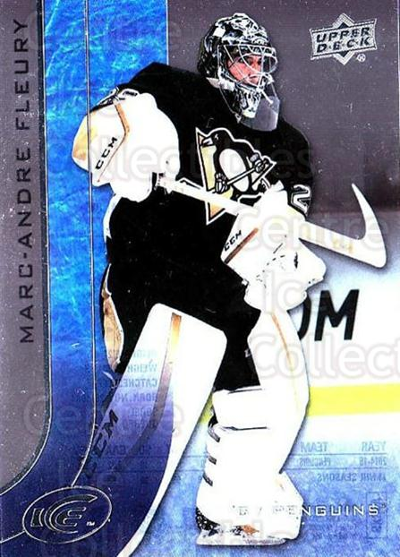 2015-16 UD Ice #41 Marc-Andre Fleury<br/>2 In Stock - $3.00 each - <a href=https://centericecollectibles.foxycart.com/cart?name=2015-16%20UD%20Ice%20%2341%20Marc-Andre%20Fleu...&quantity_max=2&price=$3.00&code=687959 class=foxycart> Buy it now! </a>