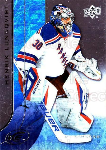 2015-16 UD Ice #42 Henrik Lundqvist<br/>5 In Stock - $2.00 each - <a href=https://centericecollectibles.foxycart.com/cart?name=2015-16%20UD%20Ice%20%2342%20Henrik%20Lundqvis...&quantity_max=5&price=$2.00&code=687960 class=foxycart> Buy it now! </a>