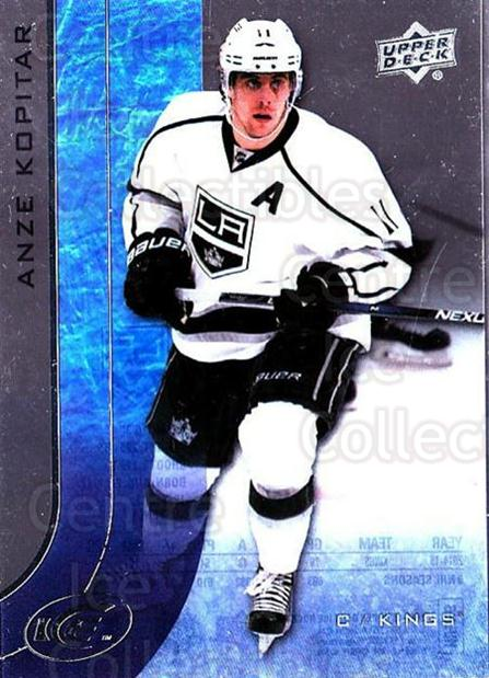 2015-16 UD Ice #46 Anze Kopitar<br/>6 In Stock - $2.00 each - <a href=https://centericecollectibles.foxycart.com/cart?name=2015-16%20UD%20Ice%20%2346%20Anze%20Kopitar...&quantity_max=6&price=$2.00&code=687964 class=foxycart> Buy it now! </a>