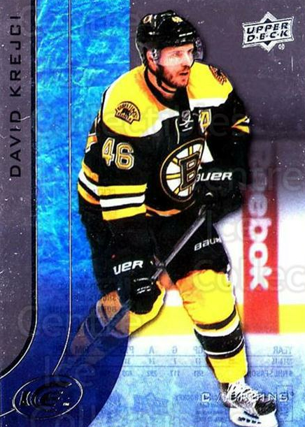 2015-16 UD Ice #48 David Krejci<br/>6 In Stock - $2.00 each - <a href=https://centericecollectibles.foxycart.com/cart?name=2015-16%20UD%20Ice%20%2348%20David%20Krejci...&quantity_max=6&price=$2.00&code=687966 class=foxycart> Buy it now! </a>