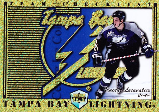 1998-99 Dynagon Ice Team Checklists #24 Vincent Lecavalier<br/>1 In Stock - $3.00 each - <a href=https://centericecollectibles.foxycart.com/cart?name=1998-99%20Dynagon%20Ice%20Team%20Checklists%20%2324%20Vincent%20Lecaval...&quantity_max=1&price=$3.00&code=68798 class=foxycart> Buy it now! </a>