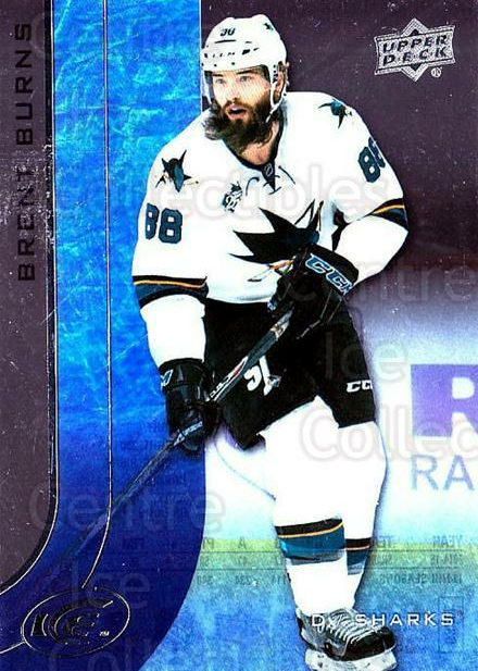 2015-16 UD Ice #73 Brent Burns<br/>6 In Stock - $2.00 each - <a href=https://centericecollectibles.foxycart.com/cart?name=2015-16%20UD%20Ice%20%2373%20Brent%20Burns...&quantity_max=6&price=$2.00&code=687991 class=foxycart> Buy it now! </a>