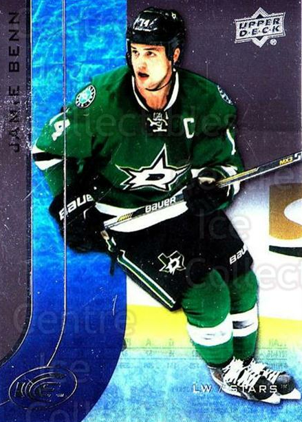 2015-16 UD Ice #79 Jamie Benn<br/>6 In Stock - $2.00 each - <a href=https://centericecollectibles.foxycart.com/cart?name=2015-16%20UD%20Ice%20%2379%20Jamie%20Benn...&quantity_max=6&price=$2.00&code=687997 class=foxycart> Buy it now! </a>