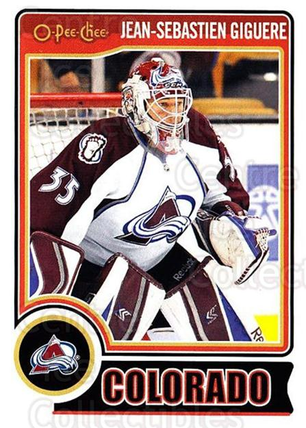 2014-15 O-Pee-chee #3 Jean-Sebastien Giguere<br/>3 In Stock - $1.00 each - <a href=https://centericecollectibles.foxycart.com/cart?name=2014-15%20O-Pee-chee%20%233%20Jean-Sebastien%20...&quantity_max=3&price=$1.00&code=688121 class=foxycart> Buy it now! </a>