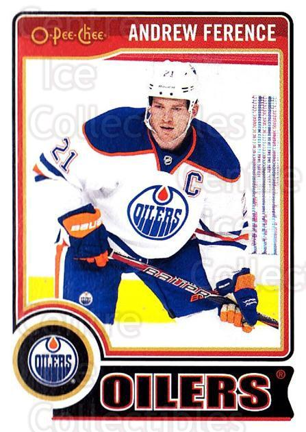 2014-15 O-Pee-chee #7 Andrew Ference<br/>4 In Stock - $1.00 each - <a href=https://centericecollectibles.foxycart.com/cart?name=2014-15%20O-Pee-chee%20%237%20Andrew%20Ference...&quantity_max=4&price=$1.00&code=688125 class=foxycart> Buy it now! </a>