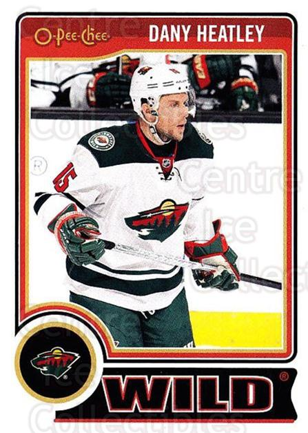 2014-15 O-Pee-chee #14 Dany Heatley<br/>3 In Stock - $1.00 each - <a href=https://centericecollectibles.foxycart.com/cart?name=2014-15%20O-Pee-chee%20%2314%20Dany%20Heatley...&quantity_max=3&price=$1.00&code=688132 class=foxycart> Buy it now! </a>