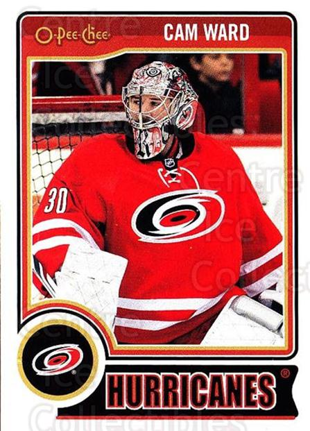 2014-15 O-Pee-chee #19 Cam Ward<br/>4 In Stock - $1.00 each - <a href=https://centericecollectibles.foxycart.com/cart?name=2014-15%20O-Pee-chee%20%2319%20Cam%20Ward...&quantity_max=4&price=$1.00&code=688137 class=foxycart> Buy it now! </a>