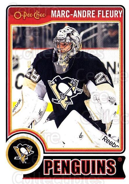 2014-15 O-Pee-chee #50 Marc-Andre Fleury<br/>4 In Stock - $2.00 each - <a href=https://centericecollectibles.foxycart.com/cart?name=2014-15%20O-Pee-chee%20%2350%20Marc-Andre%20Fleu...&quantity_max=4&price=$2.00&code=688168 class=foxycart> Buy it now! </a>