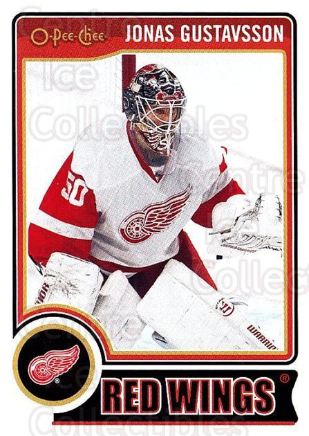 2014-15 O-Pee-chee #65 Jonas Gustavsson<br/>5 In Stock - $1.00 each - <a href=https://centericecollectibles.foxycart.com/cart?name=2014-15%20O-Pee-chee%20%2365%20Jonas%20Gustavsso...&quantity_max=5&price=$1.00&code=688183 class=foxycart> Buy it now! </a>