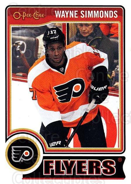 2014-15 O-Pee-chee #67 Wayne Simmonds<br/>5 In Stock - $1.00 each - <a href=https://centericecollectibles.foxycart.com/cart?name=2014-15%20O-Pee-chee%20%2367%20Wayne%20Simmonds...&quantity_max=5&price=$1.00&code=688185 class=foxycart> Buy it now! </a>