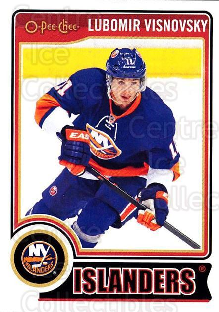 2014-15 O-Pee-chee #70 Lubomir Visnovsky<br/>5 In Stock - $1.00 each - <a href=https://centericecollectibles.foxycart.com/cart?name=2014-15%20O-Pee-chee%20%2370%20Lubomir%20Visnovs...&quantity_max=5&price=$1.00&code=688188 class=foxycart> Buy it now! </a>
