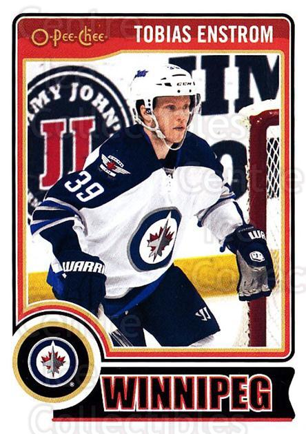 2014-15 O-Pee-chee #82 Tobias Enstrom<br/>5 In Stock - $1.00 each - <a href=https://centericecollectibles.foxycart.com/cart?name=2014-15%20O-Pee-chee%20%2382%20Tobias%20Enstrom...&quantity_max=5&price=$1.00&code=688200 class=foxycart> Buy it now! </a>