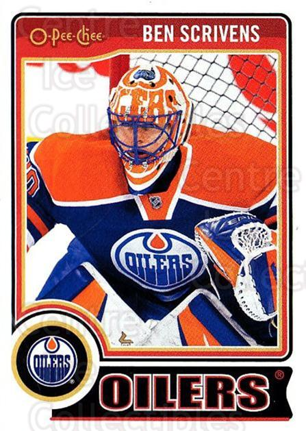 2014-15 O-Pee-chee #91 Ben Scrivens<br/>4 In Stock - $1.00 each - <a href=https://centericecollectibles.foxycart.com/cart?name=2014-15%20O-Pee-chee%20%2391%20Ben%20Scrivens...&quantity_max=4&price=$1.00&code=688209 class=foxycart> Buy it now! </a>