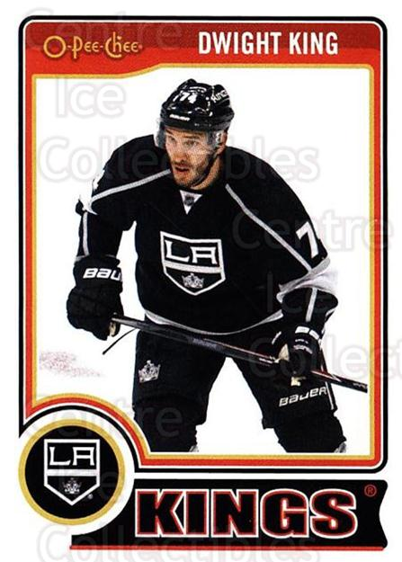2014-15 O-Pee-chee #93 Dwight King<br/>5 In Stock - $1.00 each - <a href=https://centericecollectibles.foxycart.com/cart?name=2014-15%20O-Pee-chee%20%2393%20Dwight%20King...&quantity_max=5&price=$1.00&code=688211 class=foxycart> Buy it now! </a>