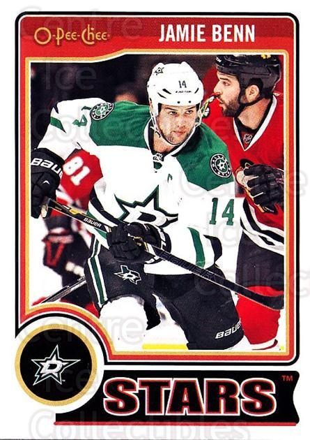 2014-15 O-Pee-chee #95 Jamie Benn<br/>5 In Stock - $1.00 each - <a href=https://centericecollectibles.foxycart.com/cart?name=2014-15%20O-Pee-chee%20%2395%20Jamie%20Benn...&quantity_max=5&price=$1.00&code=688213 class=foxycart> Buy it now! </a>