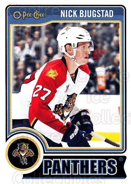 2014-15 O-Pee-chee #101 Nick Bjugstad<br/>5 In Stock - $1.00 each - <a href=https://centericecollectibles.foxycart.com/cart?name=2014-15%20O-Pee-chee%20%23101%20Nick%20Bjugstad...&quantity_max=5&price=$1.00&code=688219 class=foxycart> Buy it now! </a>