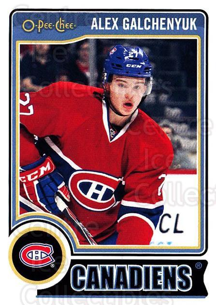2014-15 O-Pee-chee #106 Alex Galchenyuk<br/>5 In Stock - $1.00 each - <a href=https://centericecollectibles.foxycart.com/cart?name=2014-15%20O-Pee-chee%20%23106%20Alex%20Galchenyuk...&quantity_max=5&price=$1.00&code=688224 class=foxycart> Buy it now! </a>