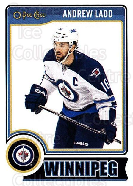 2014-15 O-Pee-chee #113 Andrew Ladd<br/>5 In Stock - $1.00 each - <a href=https://centericecollectibles.foxycart.com/cart?name=2014-15%20O-Pee-chee%20%23113%20Andrew%20Ladd...&quantity_max=5&price=$1.00&code=688231 class=foxycart> Buy it now! </a>