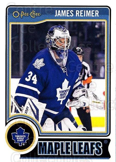 2014-15 O-Pee-chee #130 James Reimer<br/>4 In Stock - $1.00 each - <a href=https://centericecollectibles.foxycart.com/cart?name=2014-15%20O-Pee-chee%20%23130%20James%20Reimer...&quantity_max=4&price=$1.00&code=688248 class=foxycart> Buy it now! </a>
