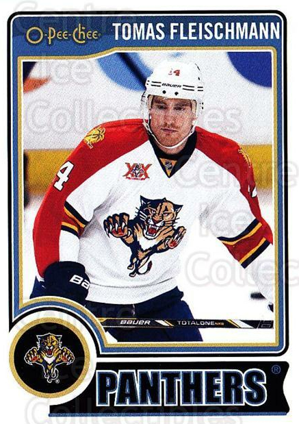 2014-15 O-Pee-chee #132 Tomas Fleischmann<br/>5 In Stock - $1.00 each - <a href=https://centericecollectibles.foxycart.com/cart?name=2014-15%20O-Pee-chee%20%23132%20Tomas%20Fleischma...&quantity_max=5&price=$1.00&code=688250 class=foxycart> Buy it now! </a>