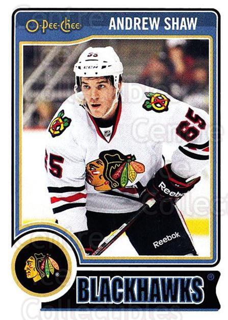2014-15 O-Pee-chee #134 Andrew Shaw<br/>4 In Stock - $1.00 each - <a href=https://centericecollectibles.foxycart.com/cart?name=2014-15%20O-Pee-chee%20%23134%20Andrew%20Shaw...&quantity_max=4&price=$1.00&code=688252 class=foxycart> Buy it now! </a>