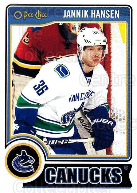 2014-15 O-Pee-chee #152 Jannik Hansen<br/>5 In Stock - $1.00 each - <a href=https://centericecollectibles.foxycart.com/cart?name=2014-15%20O-Pee-chee%20%23152%20Jannik%20Hansen...&quantity_max=5&price=$1.00&code=688270 class=foxycart> Buy it now! </a>