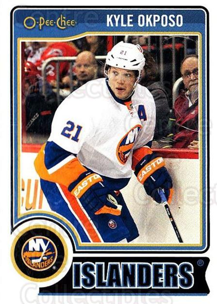 2014-15 O-Pee-chee #163 Kyle Okposo<br/>5 In Stock - $1.00 each - <a href=https://centericecollectibles.foxycart.com/cart?name=2014-15%20O-Pee-chee%20%23163%20Kyle%20Okposo...&quantity_max=5&price=$1.00&code=688281 class=foxycart> Buy it now! </a>