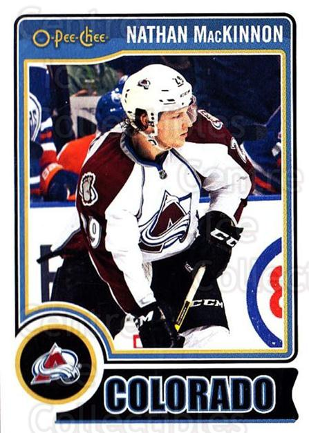 2014-15 O-Pee-chee #164 Nathan MacKinnon<br/>3 In Stock - $2.00 each - <a href=https://centericecollectibles.foxycart.com/cart?name=2014-15%20O-Pee-chee%20%23164%20Nathan%20MacKinno...&quantity_max=3&price=$2.00&code=688282 class=foxycart> Buy it now! </a>