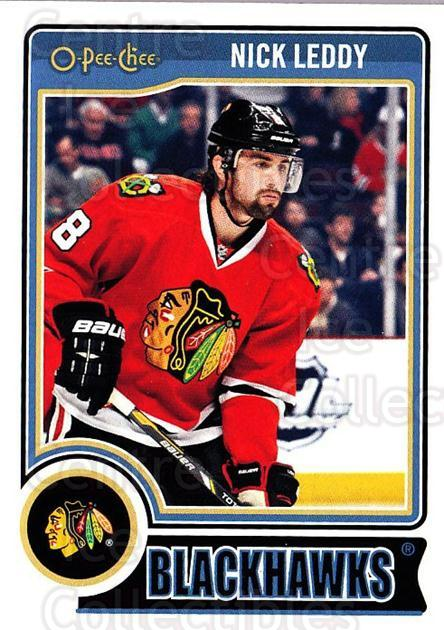 2014-15 O-Pee-chee #196 Nick Leddy<br/>5 In Stock - $1.00 each - <a href=https://centericecollectibles.foxycart.com/cart?name=2014-15%20O-Pee-chee%20%23196%20Nick%20Leddy...&quantity_max=5&price=$1.00&code=688314 class=foxycart> Buy it now! </a>