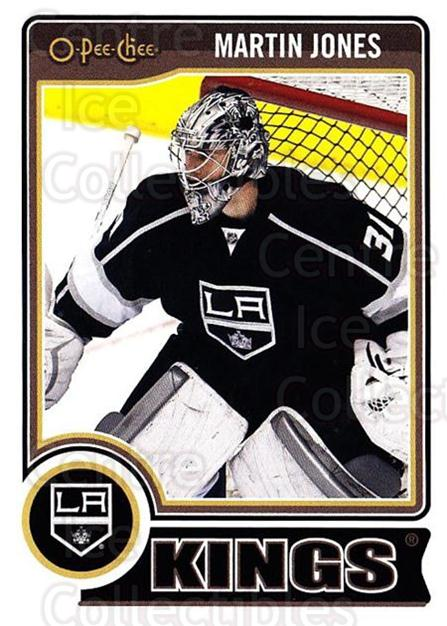 2014-15 O-Pee-chee #203 Martin Jones<br/>5 In Stock - $1.00 each - <a href=https://centericecollectibles.foxycart.com/cart?name=2014-15%20O-Pee-chee%20%23203%20Martin%20Jones...&quantity_max=5&price=$1.00&code=688321 class=foxycart> Buy it now! </a>