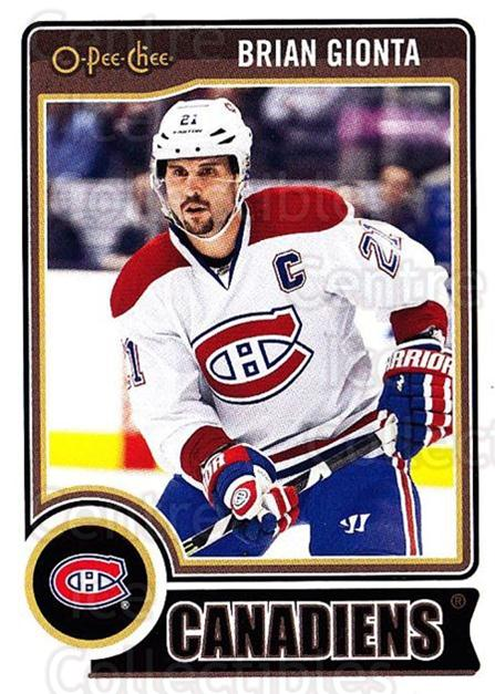 2014-15 O-Pee-chee #204 Brian Gionta<br/>4 In Stock - $1.00 each - <a href=https://centericecollectibles.foxycart.com/cart?name=2014-15%20O-Pee-chee%20%23204%20Brian%20Gionta...&quantity_max=4&price=$1.00&code=688322 class=foxycart> Buy it now! </a>