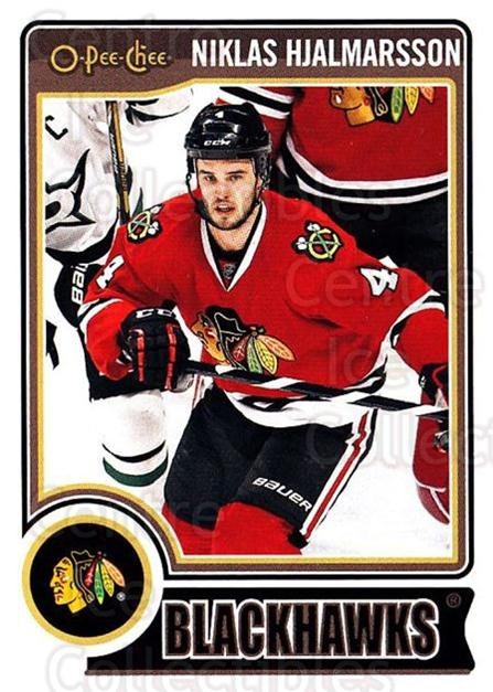 2014-15 O-Pee-chee #234 Niklas Hjalmarsson<br/>5 In Stock - $1.00 each - <a href=https://centericecollectibles.foxycart.com/cart?name=2014-15%20O-Pee-chee%20%23234%20Niklas%20Hjalmars...&quantity_max=5&price=$1.00&code=688352 class=foxycart> Buy it now! </a>
