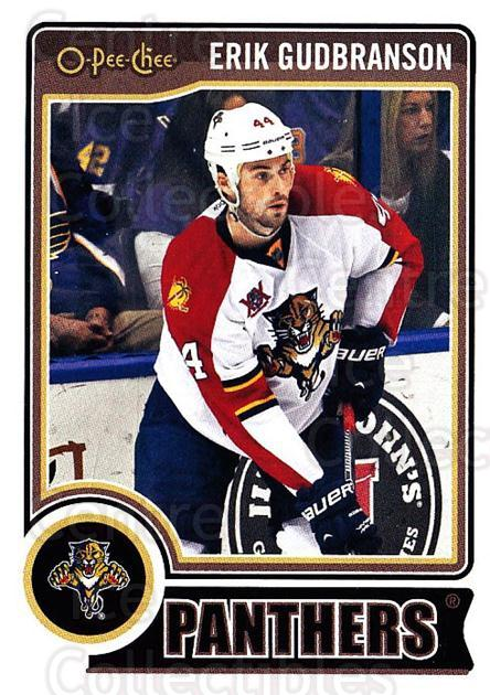 2014-15 O-Pee-chee #254 Erik Gudbranson<br/>5 In Stock - $1.00 each - <a href=https://centericecollectibles.foxycart.com/cart?name=2014-15%20O-Pee-chee%20%23254%20Erik%20Gudbranson...&quantity_max=5&price=$1.00&code=688372 class=foxycart> Buy it now! </a>