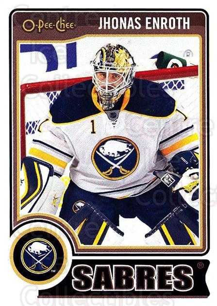 2014-15 O-Pee-chee #255 Jhonas Enroth<br/>4 In Stock - $1.00 each - <a href=https://centericecollectibles.foxycart.com/cart?name=2014-15%20O-Pee-chee%20%23255%20Jhonas%20Enroth...&quantity_max=4&price=$1.00&code=688373 class=foxycart> Buy it now! </a>