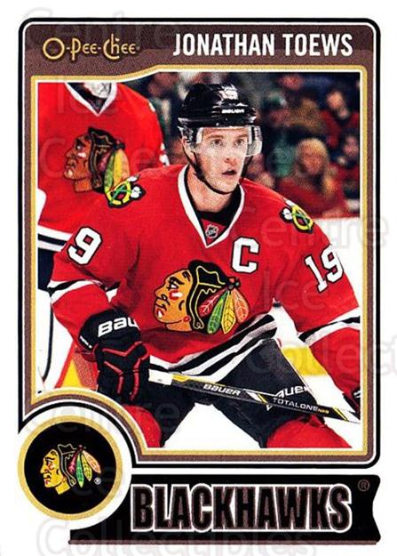 2014-15 O-Pee-chee #256 Jonathan Toews<br/>3 In Stock - $2.00 each - <a href=https://centericecollectibles.foxycart.com/cart?name=2014-15%20O-Pee-chee%20%23256%20Jonathan%20Toews...&quantity_max=3&price=$2.00&code=688374 class=foxycart> Buy it now! </a>