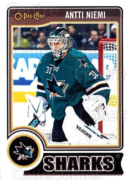 2014-15 O-Pee-chee #266 Antti Niemi<br/>5 In Stock - $1.00 each - <a href=https://centericecollectibles.foxycart.com/cart?name=2014-15%20O-Pee-chee%20%23266%20Antti%20Niemi...&quantity_max=5&price=$1.00&code=688384 class=foxycart> Buy it now! </a>