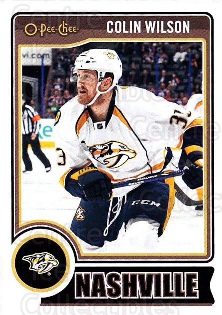 2014-15 O-Pee-chee #276 Colin Wilson<br/>4 In Stock - $1.00 each - <a href=https://centericecollectibles.foxycart.com/cart?name=2014-15%20O-Pee-chee%20%23276%20Colin%20Wilson...&quantity_max=4&price=$1.00&code=688394 class=foxycart> Buy it now! </a>
