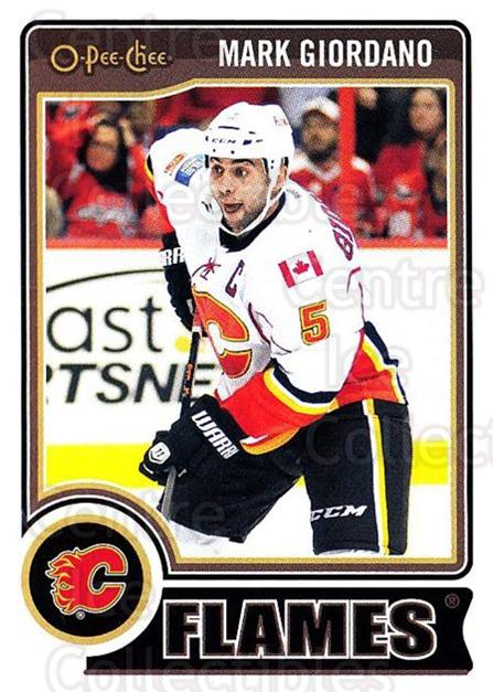 2014-15 O-Pee-chee #277 Mark Giordano<br/>5 In Stock - $1.00 each - <a href=https://centericecollectibles.foxycart.com/cart?name=2014-15%20O-Pee-chee%20%23277%20Mark%20Giordano...&quantity_max=5&price=$1.00&code=688395 class=foxycart> Buy it now! </a>