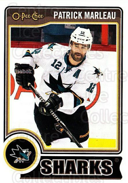 2014-15 O-Pee-chee #298 Patrick Marleau<br/>5 In Stock - $1.00 each - <a href=https://centericecollectibles.foxycart.com/cart?name=2014-15%20O-Pee-chee%20%23298%20Patrick%20Marleau...&quantity_max=5&price=$1.00&code=688416 class=foxycart> Buy it now! </a>