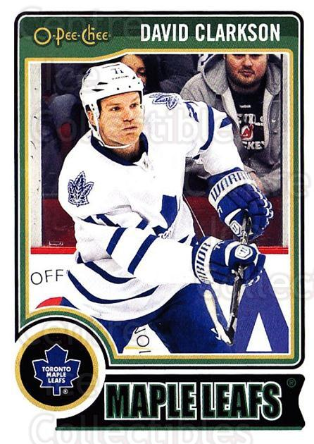 2014-15 O-Pee-chee #304 David Clarkson<br/>4 In Stock - $1.00 each - <a href=https://centericecollectibles.foxycart.com/cart?name=2014-15%20O-Pee-chee%20%23304%20David%20Clarkson...&quantity_max=4&price=$1.00&code=688422 class=foxycart> Buy it now! </a>