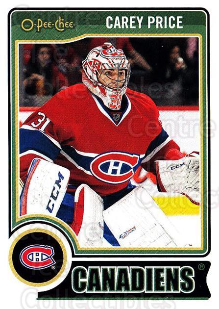 2014-15 O-Pee-chee #353 Carey Price<br/>1 In Stock - $3.00 each - <a href=https://centericecollectibles.foxycart.com/cart?name=2014-15%20O-Pee-chee%20%23353%20Carey%20Price...&price=$3.00&code=688471 class=foxycart> Buy it now! </a>