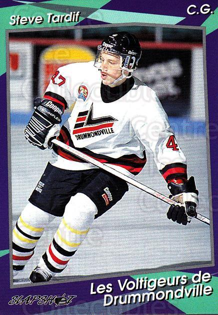 1993-94 Drummondville Voltigeurs #22 Steve Tardif<br/>3 In Stock - $3.00 each - <a href=https://centericecollectibles.foxycart.com/cart?name=1993-94%20Drummondville%20Voltigeurs%20%2322%20Steve%20Tardif...&price=$3.00&code=6884 class=foxycart> Buy it now! </a>
