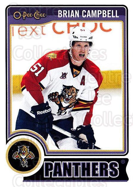 2014-15 O-Pee-chee #431 Brian Campbell<br/>5 In Stock - $1.00 each - <a href=https://centericecollectibles.foxycart.com/cart?name=2014-15%20O-Pee-chee%20%23431%20Brian%20Campbell...&quantity_max=5&price=$1.00&code=688549 class=foxycart> Buy it now! </a>