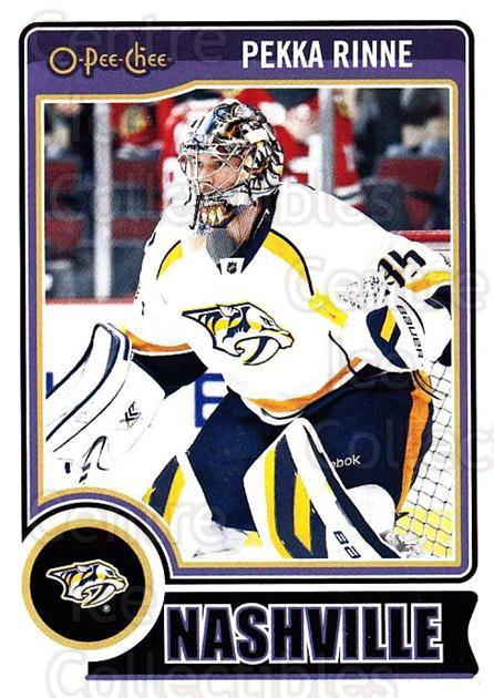 2014-15 O-Pee-chee #466 Pekka Rinne<br/>5 In Stock - $1.00 each - <a href=https://centericecollectibles.foxycart.com/cart?name=2014-15%20O-Pee-chee%20%23466%20Pekka%20Rinne...&quantity_max=5&price=$1.00&code=688584 class=foxycart> Buy it now! </a>
